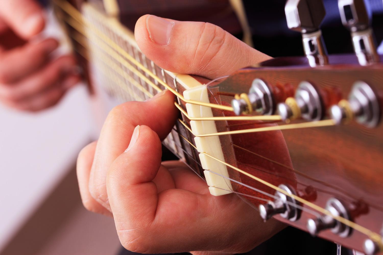 指 の 皮 ギター