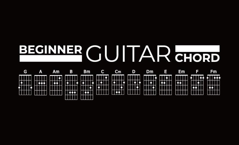 ギターコードの押さえ方と9つのコツ!初心者から2週間でマスターする練習法