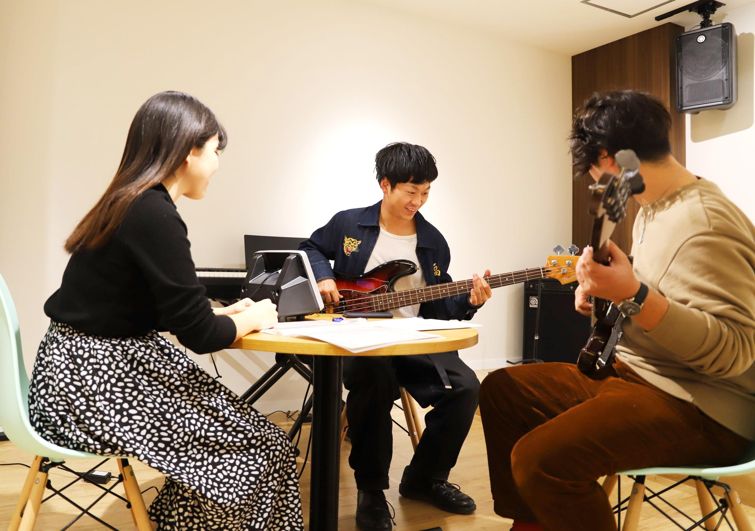 東京【吉祥寺】のベース教室|MUZYX[ミュージックス]